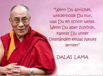 Dalai Lama - Höre zu